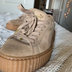 Puma Shoes - Original Puma Creepers Suede Tan (Rihanna)